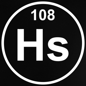 Element 108 - hs (hassium) - Minimal T-Shirts - Baby T-Shirt