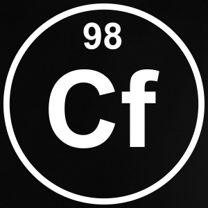 Element 98 - cf (californium) - Minimal T-shirts - Baby-T-shirt