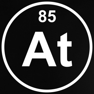 Element 85 - at (astatine) - Minimal Skjorter - Baby-T-skjorte