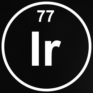 Element 77 - ir (iridium) - Minimal T-shirts - Baby-T-shirt