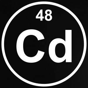 Element 48 - cd (cadmium) - Minimal T-shirts - Baby T-shirt