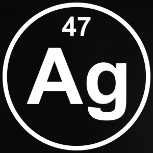 Element 47 - ag (silver) - Minimal T-shirts - Baby-T-shirt
