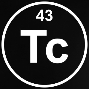 Element 43 - tc (technetium) - Minimal T-shirts - Baby-T-shirt