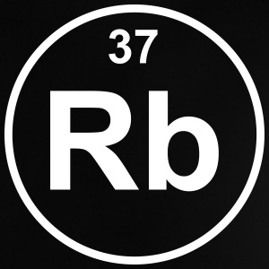 Element 37 - rb (rubidium) - Minimal Camisetas - Camiseta bebé