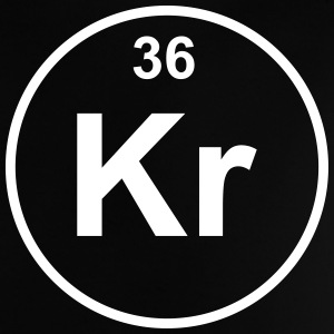 Element 36 - kr (krypton) - Minimal Camisetas - Camiseta bebé
