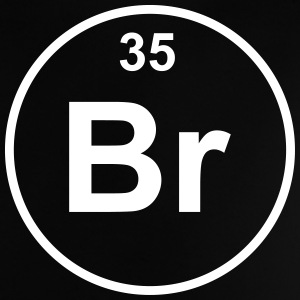 Element 35 - br (bromine) - Minimal T-shirts - Baby-T-shirt