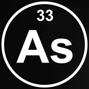 Element 33 - as (arsenic) - Minimal T-shirts - Baby-T-shirt