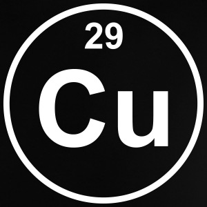 Element 29 - cu (copper) - Minimal Skjorter - Baby-T-skjorte