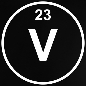 Element 23 - v (vanadium) - Minimal T-shirts - Baby-T-shirt