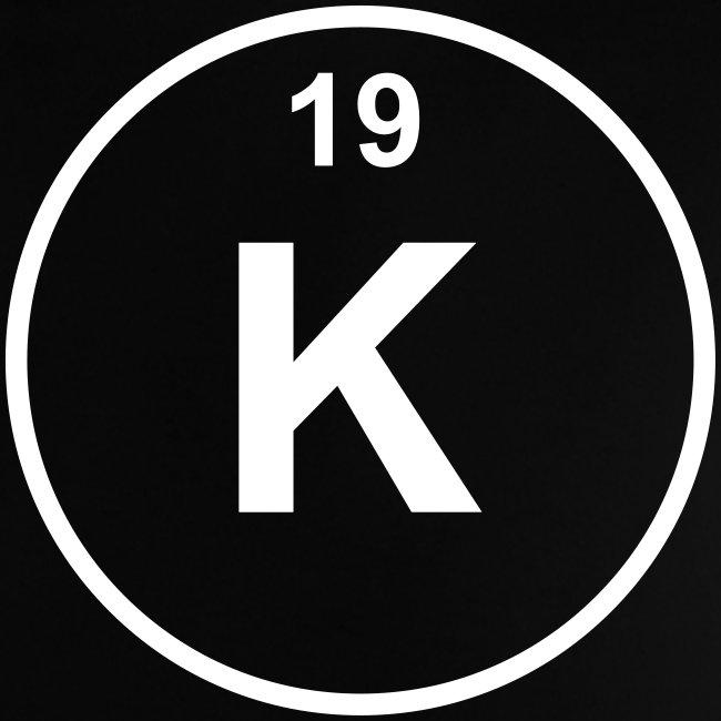 Periodic Table Words Potassium K Element 19 Minimal Round 1