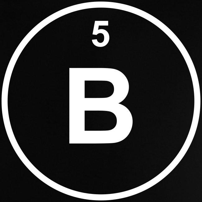 Periodic table words boron b element 5 minimal round 1 col boron b element 5 minimal round 1 col baby shirt urtaz Images