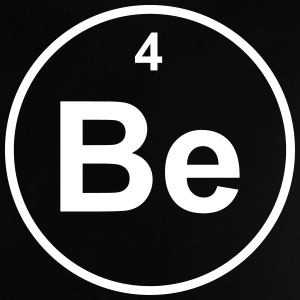 Element 4 - be (beryllium) - Minimal T-shirts - Baby-T-shirt
