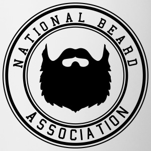 National Beard Association / Mustache Moustache 1c Flaschen & Tassen - Tasse