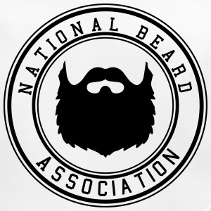 National Beard Association / Mustache Moustache 1c Accessoires - Baby Bio-Lätzchen