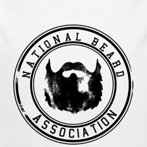 National Beard Association / Vintage Pullover & Hoodies - Baby Bio-Langarm-Body