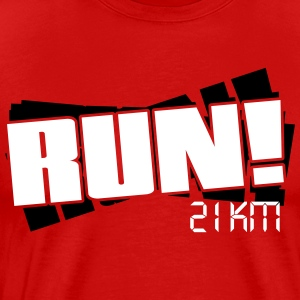 Run - Half marathon T-Shirts - Men's Premium T-Shirt