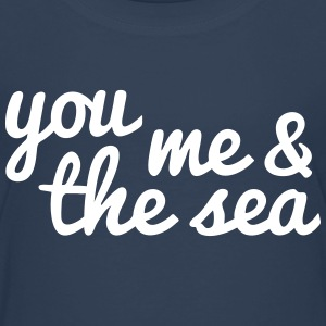 you, me and the sea tú, yo y el mar Camisetas - Camiseta premium niño