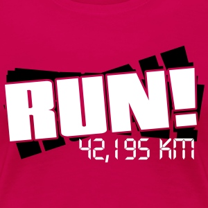 Run - Marathon T-Shirts - Frauen Premium T-Shirt
