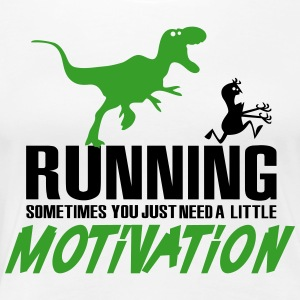 Running - Sometimes you just need a motivation T-skjorter - Premium T-skjorte for kvinner