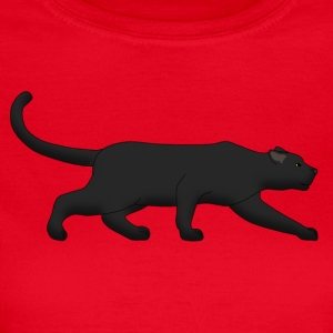black panther creeps Camisetas - Camiseta mujer