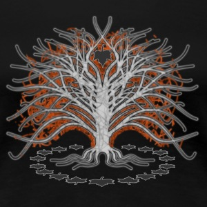 'Autumn tree' Women's Classic T-Shirt - Women's Premium T-Shirt