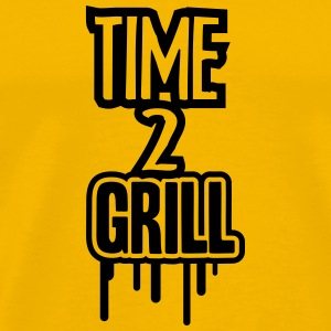Time 2 Grill T-Shirts - Men's Premium T-Shirt