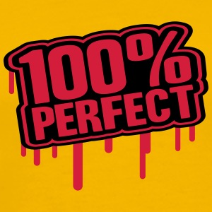 100 % Perfect Stamp T-Shirts - Men's Premium T-Shirt