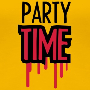 Party Time T-shirts - Dame premium T-shirt