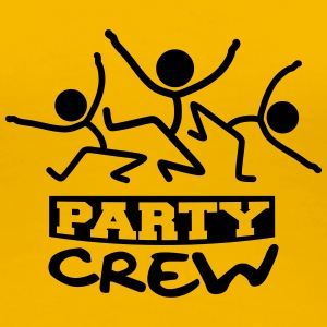 Party Crew Stick Figures Tee shirts - T-shirt Premium Femme