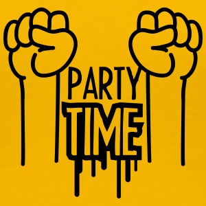 Party Time Arms T-shirts - Vrouwen Premium T-shirt