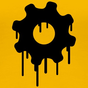 Gears Graffiti T-Shirts - Frauen Premium T-Shirt