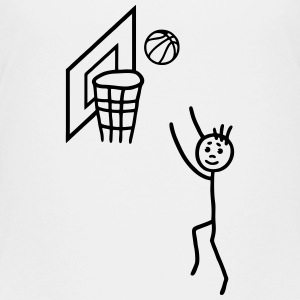 Basketball player - basketball net Tee shirts - T-shirt Premium Ado