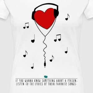 Girly Music - Frauen Premium T-Shirt