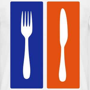 knife & fork T-Shirts - Men's T-Shirt