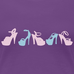 shoes T-shirts - Vrouwen Premium T-shirt