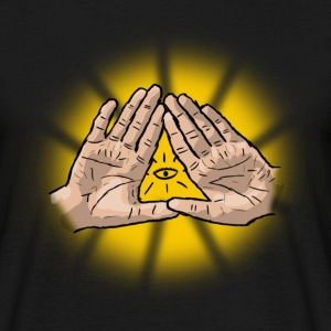 Illuminati Hands - Men's T-Shirt