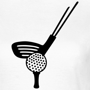 Golf - line T-Shirts - Frauen T-Shirt