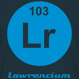Element 103 - lr (lawrencium) - Minimal-inverse Tee shirts - T-shirt Homme