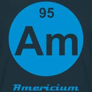 Americium (Am) (element 95) - Men's T-Shirt