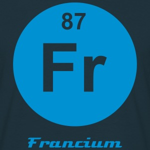 Francium (Fr) (element 87) - Men's T-Shirt