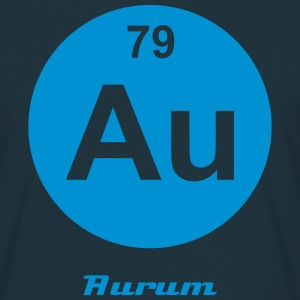 Aurum (Au) (element 79) - Men's T-Shirt