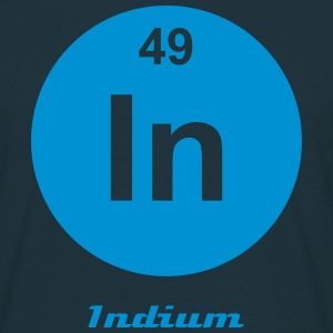 Element 49 - in (indium) - Minimal-inverse Camisetas - Camiseta hombre