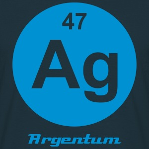 Argentum (Ag) (element 47) - Men's T-Shirt