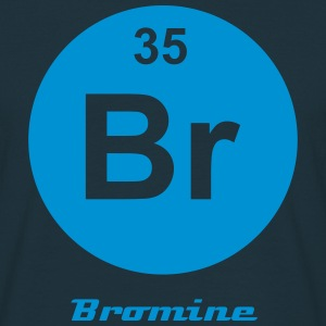 Element 35 - br (bromine) - Minimal-inverse Tee shirts - T-shirt Homme
