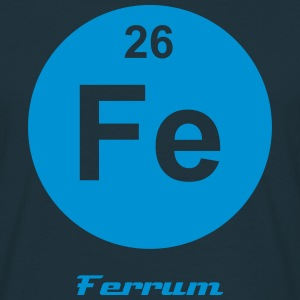 Ferrum (Fe) (element 26) - Men's T-Shirt