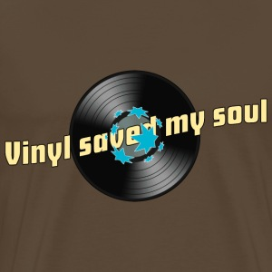 Männershirt Vinyl saved my soul - Männer Premium T-Shirt