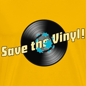 Männershirt Save the Vinyl! - Männer Premium T-Shirt