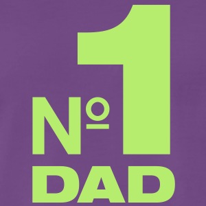 Number One Dad - Nr. Eins Papa - Männer Premium T-Shirt