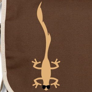funny lizard  Bags & backpacks - Shoulder Bag