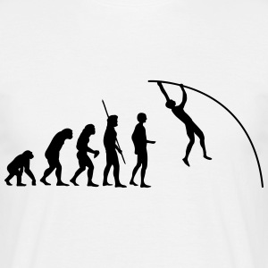 Pole Vault Evolution  T-Shirts - Men's T-Shirt